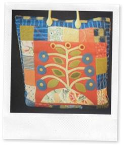 Sue Spargo Mimosa Tote pattern