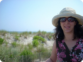 wearing a dorky hat, Ocean City, NJ