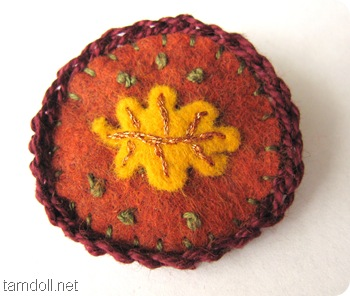 Tamdoll's Fall Brooch 2010