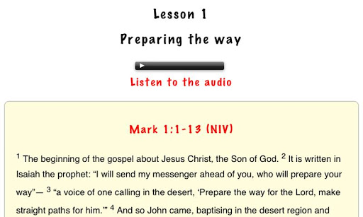 【免費書籍App】Explore Mark's Gospel-APP點子