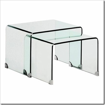 table basse verre la redoute. Black Bedroom Furniture Sets. Home Design Ideas