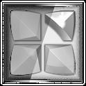 Next Launcher 3D Theme Stun-BW icon