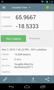 GPS Logger for Android - screenshot thumbnail