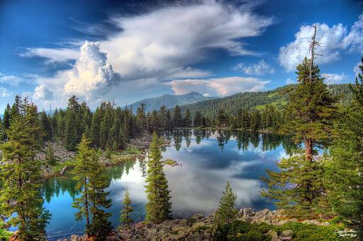 Грицко озеро. Высота 1800 м. Тихое красивое место, куда нога туриста очень редко сутпает