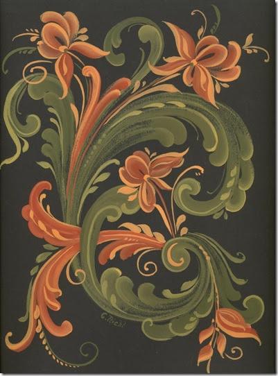 Knitting Rosemaler Some More Rosemaling