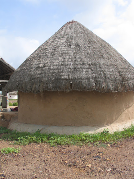Traditional Circular House Form Bhunga In Kutchh