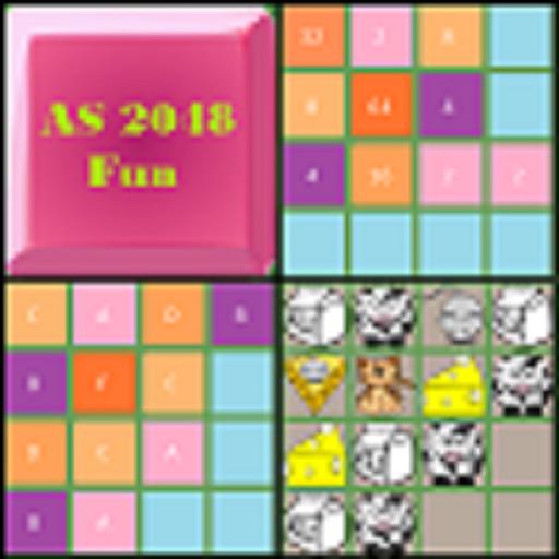 AS 2048 Fun LOGO-APP點子