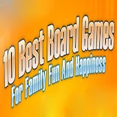 10 Board Games For Family Fun