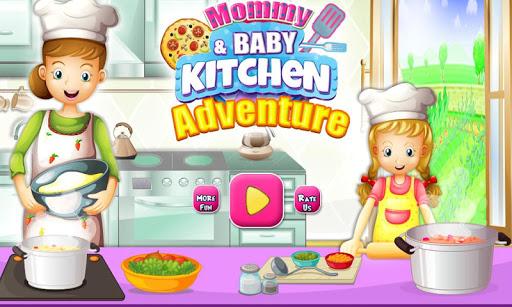 Mommy Baby Kitchen Adventure