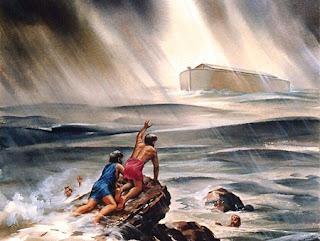 Resultado de imagen para Jesús compara la venida del Hijo del Hombre a los días del Diluvio
