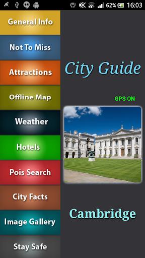 Cambridge Offline Map Guide