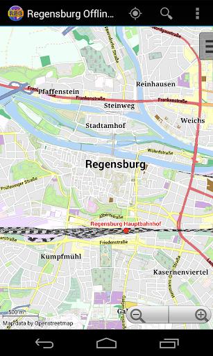 Regensburg Offline City Map