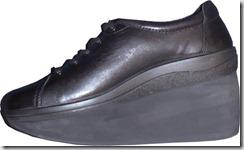 鞋托中底切穿罗克鞋底高脚趾弹簧