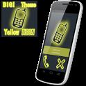 BIG! caller ID Theme NeonYllw icon