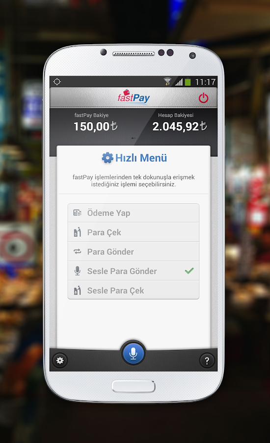 fastPay- screenshot
