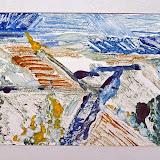 winters akkerland, monoprint