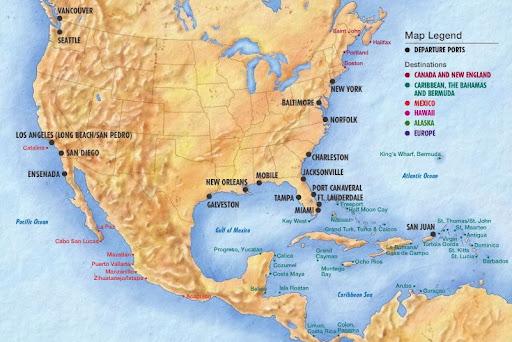 ofertas y promociones de cruceros europa, caribe, alaska