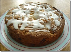 Apple Ginger and Lemon Cake