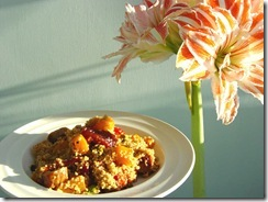 Squash and Sausage Couscous