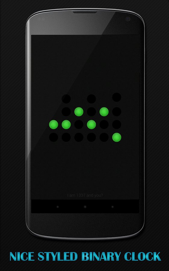 Binary Clock Daydream Pro- screenshot