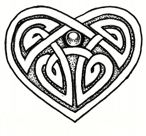 Celtic Heart Designs Clip Art