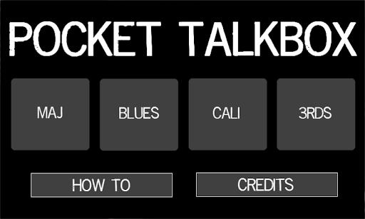 Pocket Talkbox