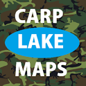 carp lake maps - Carp Fishing icon