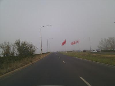 fog on kings