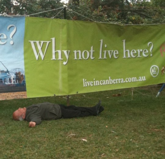 mixed messages at Floriade