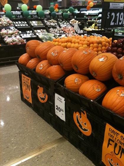 Brisbane pumpkins
