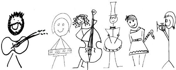 Rafe's band cartoon