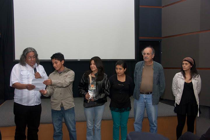 Elenco de Paraiso - Premiacion APRECI 2010 en CAFAE