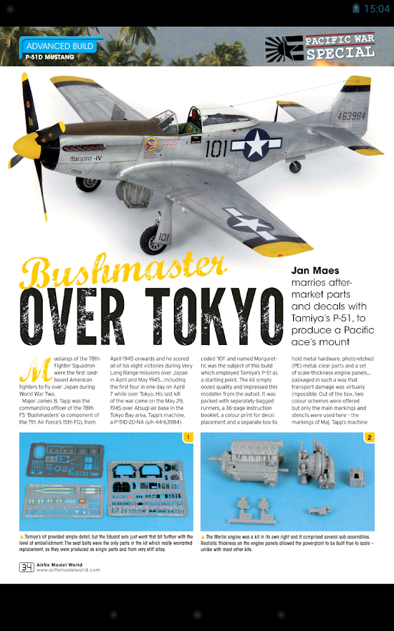 Airfix Model World Magazine - screenshot
