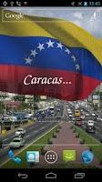 Screenshot of 3D Venezuela Flag LWP +