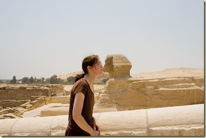At the Sphinx