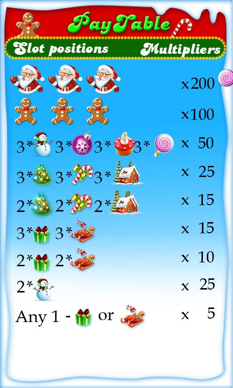 Christmas Slots 2- screenshot