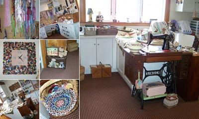 View Sewing room