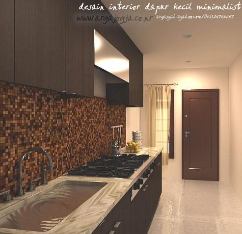 Desain Interior Dapur Kecil Minimalist Ukuran 1 9x3 8