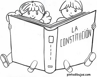 Coloring pages january 2010 for Constitution day coloring pages