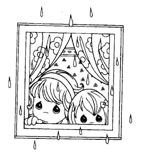 - Rainy Day Coloring Pages Coloring Pages