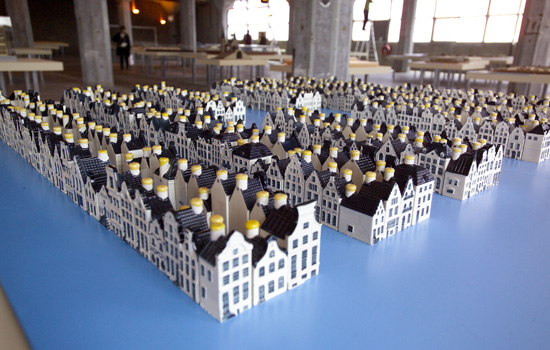 Archetype Dutch Watercity with KLM houses