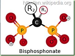 Бисфосфонаты химическая формула и структура