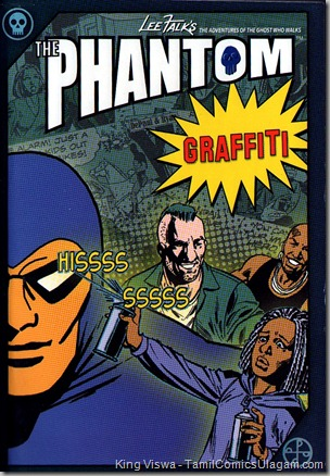 Euro Books Phantom Series Book No 24 Graffitti Cover