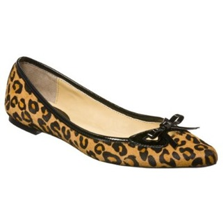 cheetah print shoe