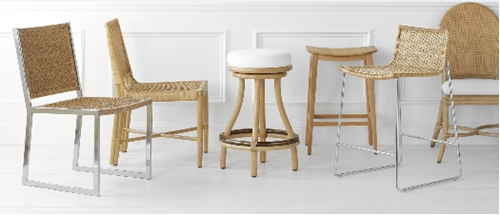 McGuire Kitchen Chairs
