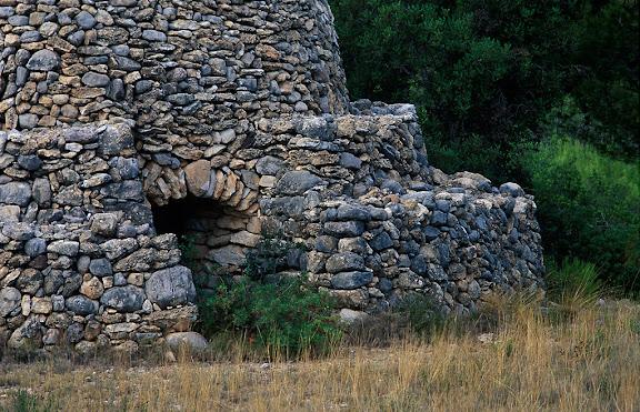 Barraca del Jaume de la Cota, pedra seca La Palma Negra Mont-roig del Camp, Baix Camp, Tarragona 2000