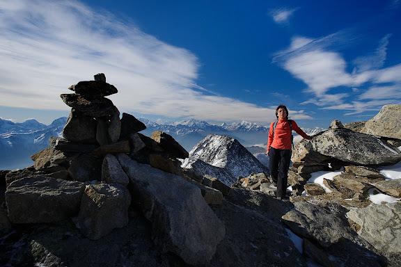 Ascensión al Eggishorn, alpes suizos,Valais, Suiza