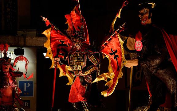Carnaval de Tarragona, dimecres (22.02.2006)L'Entrada a la ciutat del Carnestoltes i la Concubina
