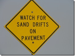5066 Watch for Sand Drifts South Padre Island Texas