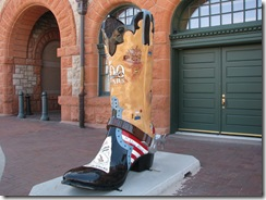 1120 Big Boot at Visitors Center Cheyenne WY